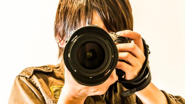 週刊文春のカメラマン